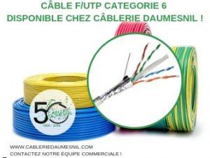 câble futp disponible chez câblerie daumesnil fournisseur en fils et câbles électriques