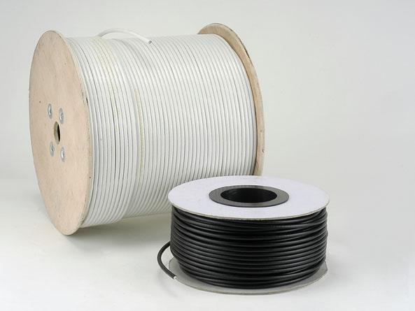 Tourets de câble VATC et PATC blanc et nois
