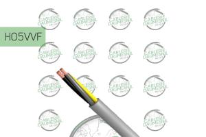 Câbles HO5VVF - CABLERIE DAUMESNIL